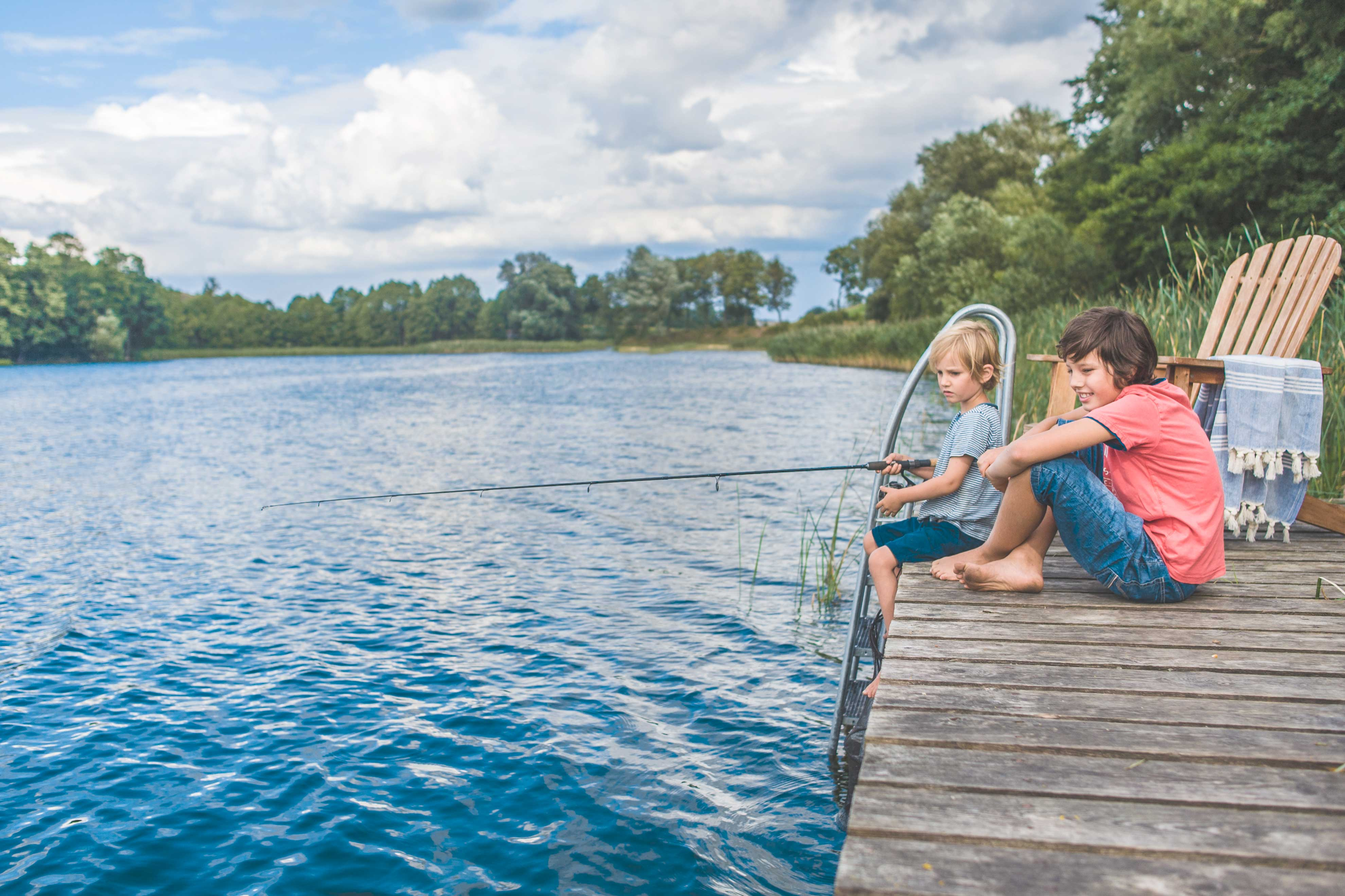 Blue Lakehouse, 50 m od jeziora - What's there for children?