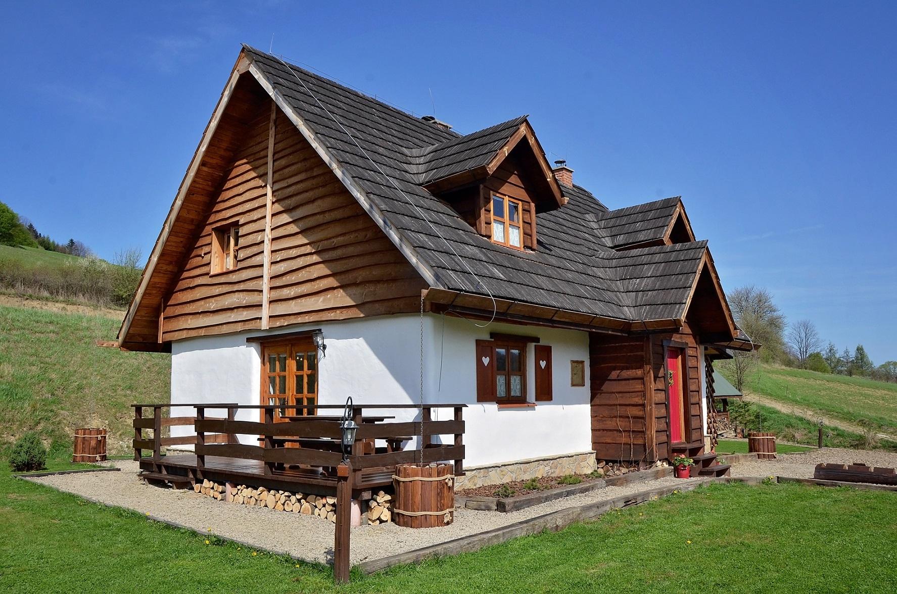 Chata z Gliny w Bieszczadach - Will I not be bored?